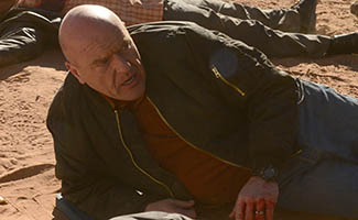 "Dean Norris Discusses Hank&#8217;s Death With <em>THR</em>; Rian Johnson Talks Directing ""Ozymandias"""