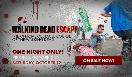 <em>The Walking Dead</em> Escape Comes to New York City Sat., Oct. 12