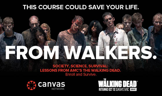 AMC, Instructure and UC Irvine to Offer Free Online Course Based on <em>The Walking Dead</em>