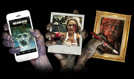 Your Zombie Self-Portrait Could Air on AMC During an Episode of <em>The Walking Dead</em>