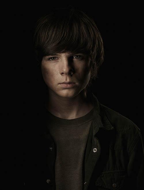 Carl Grimes (Chandler Riggs) - The Walking Dead