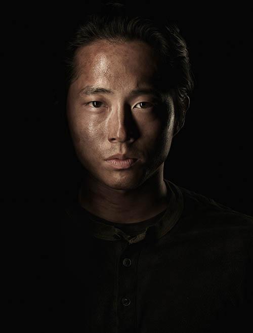 Glenn Rhee (Steven Yeun) of The Walking Dead