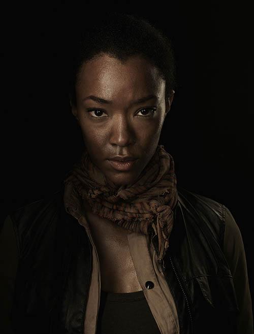 Sasha (Sonequa Martin-Green) of The Walking Dead