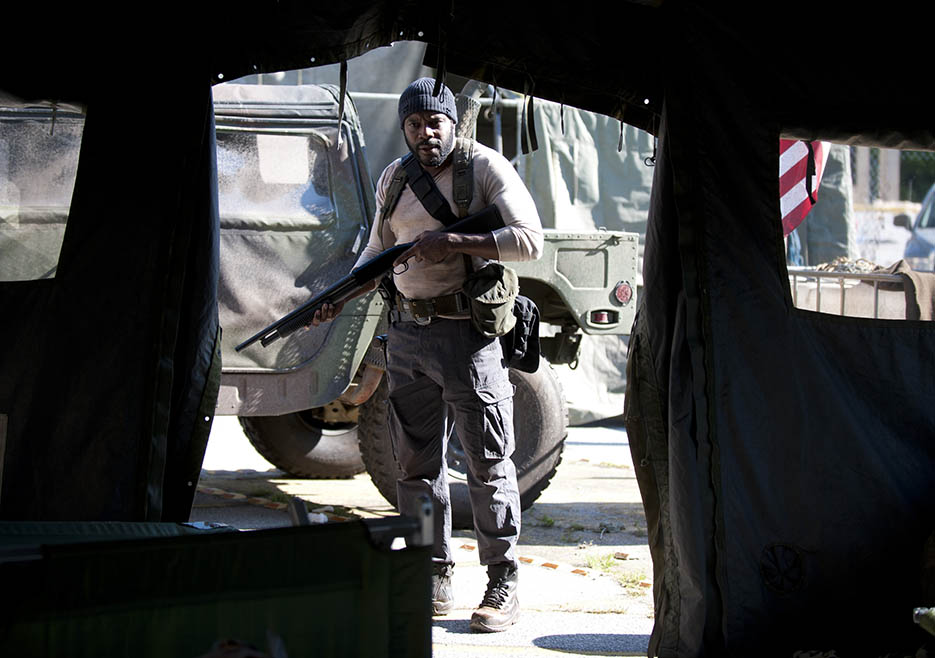 Tyreese (Chad L. Coleman) in Episode 1 of The Walking Dead