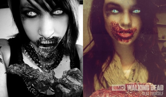 Photos – 13 Zombies For 2013 From AMC's Dead Yourself App