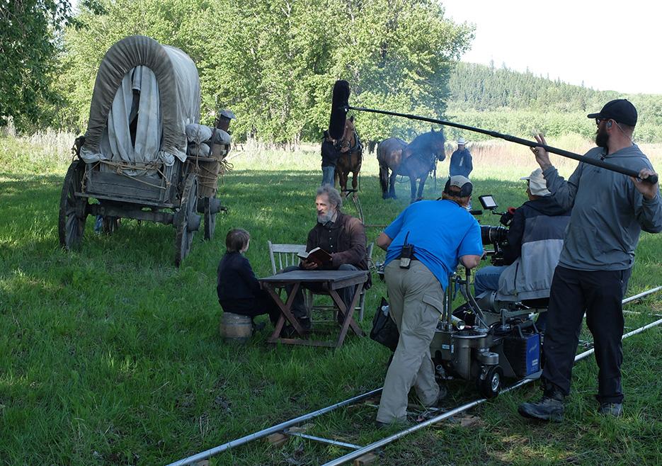 Hell on Wheels Season 3 Behind the Scenes Photos