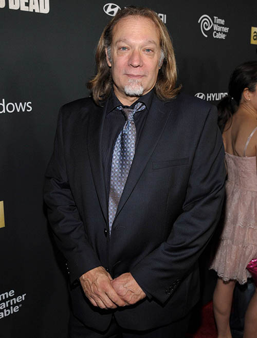 Greg Nicotero (Executive Producer, Special FX Makeup Designer) at The Walking Dead Season 4 Premiere Party