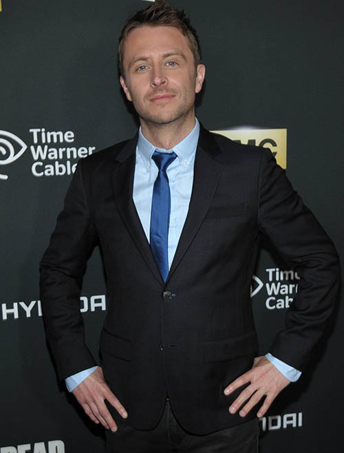 Chris Hardwick (Host, Talking Dead) at The Walking Dead Season 4 Premiere Party