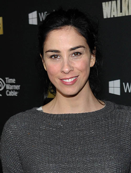 The Walking Dead Season 4 Premiere Party - Sarah Silverman