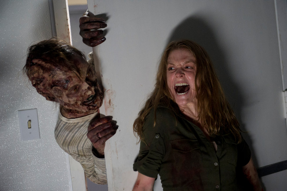 Karina (Ashley Bell) on The Walking Dead - The Oath Webisode
