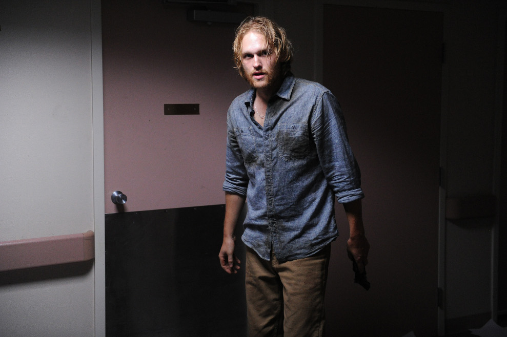 Paul (Wyatt Russell) on The Walking Dead - The Oath Webisode