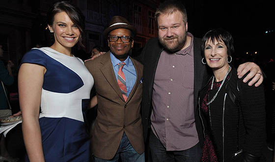 Red Carpet Photos From <em>The Walking Dead</em>&#8216;s Season 4 Premiere Party