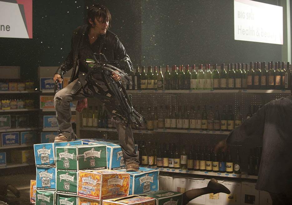 Daryl Dixon (Norman Reedus) in Episode 1 of The Walking Dead