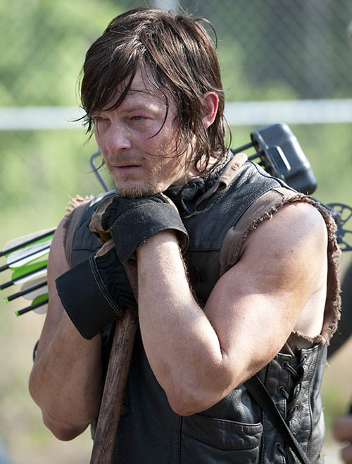 Daryl Dixon (Norman Reedus) in Episode 2 of The Walking Dead