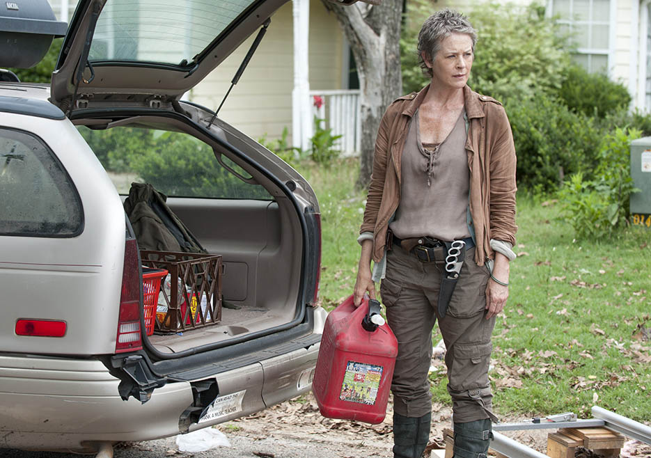 Carol Peletier (Melissa McBride) in Episode 4 of The Walking Dead