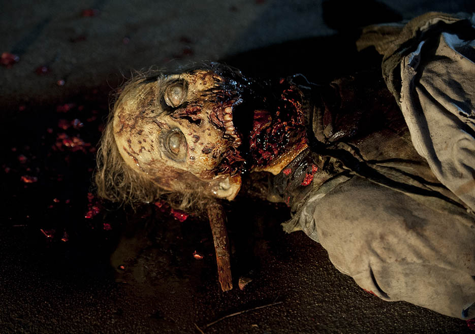 Walker in Episode 5 of The Walking Dead
