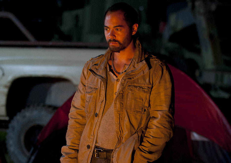 Martinez (Jose Pablo Cantillo) in Episode 6 of The Walking Dead