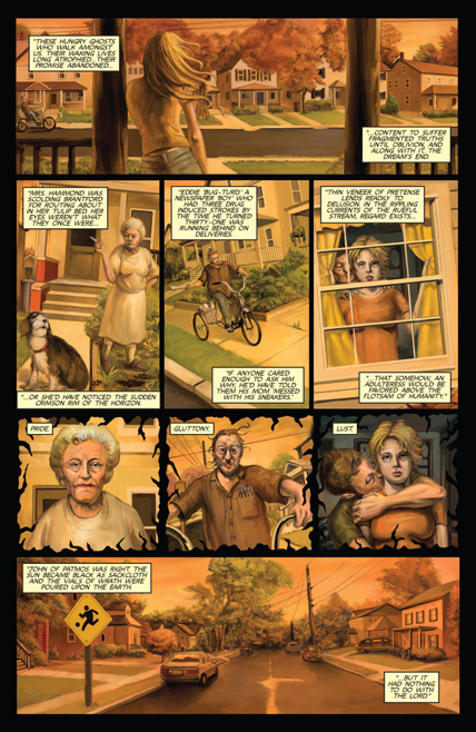Issue 1 - Cryptozoic Man - Sneak Peek