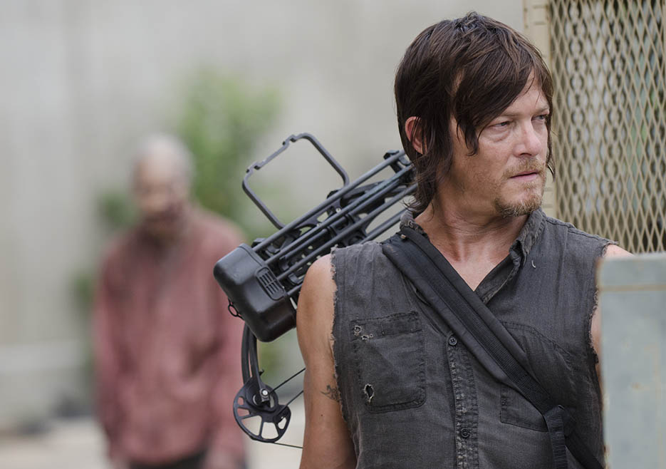 Daryl Dixon (Norman Reedus) in Episode 8 of The Walking Dead