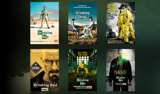 Which <em>Breaking Bad</em> Poster Is Your Favorite?