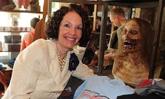 Interview With :    Carrie Cottrill, Owner of The Woodbury Shoppe (a.k.a. The Walking Dead Store)