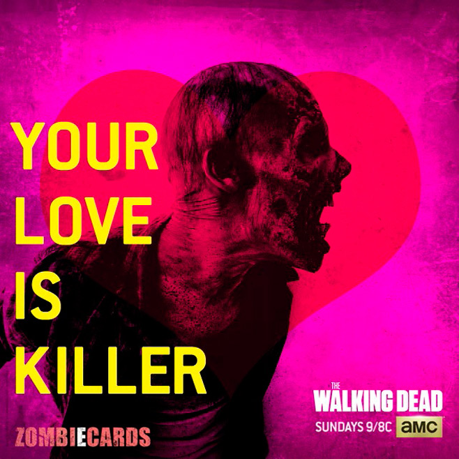 The Walking Dead Valentine