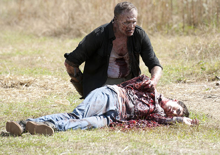 Merle Dixon (Michael Rooker) in Episode 15 of The Walking Dead