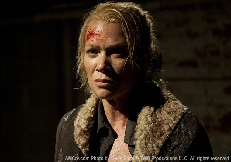 Andrea (Laurie Holden) in Episode 16 of The Walking Dead