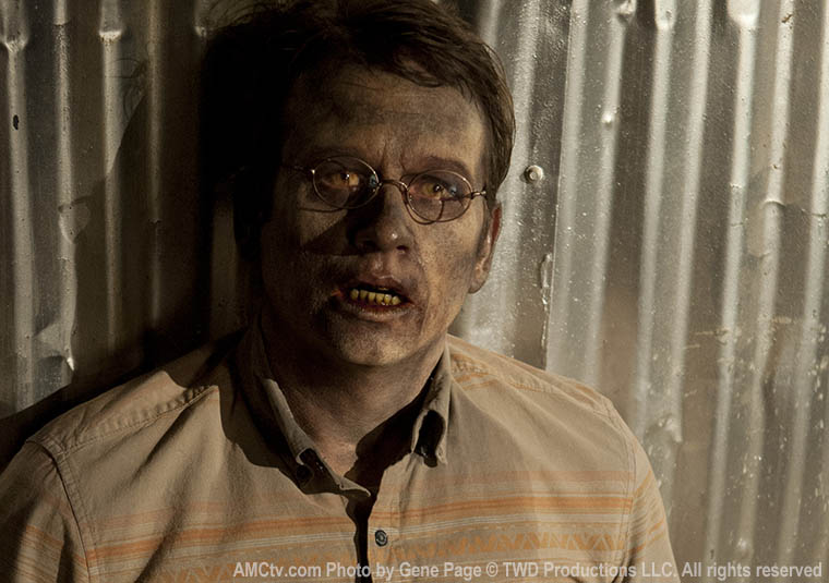 Milton Mamet (Dallas Roberts) in Episode 16 of The Walking Dead