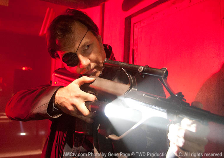 The Governor (David Morrissey) in Episode 16 of The Walking Dead