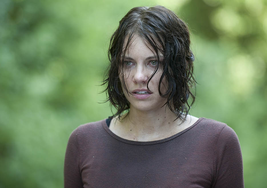 Maggie Greene (Lauren Cohan) in Episode 10 of The Walking Dead