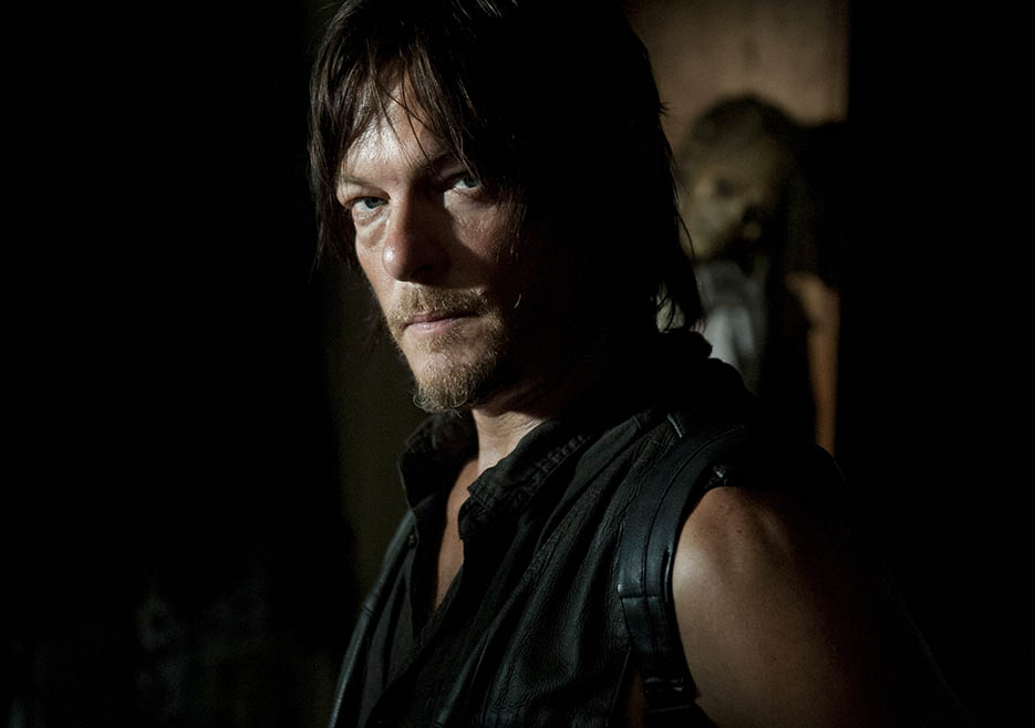 Daryl Dixon (Norman Reedus) in Episode 12 of The Walking Dead