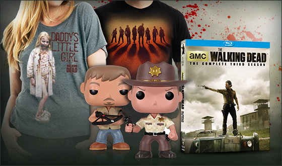 A New <em>The Walking Dead</em> Store Makes One-Stop, Online Shopping Easy for Fans