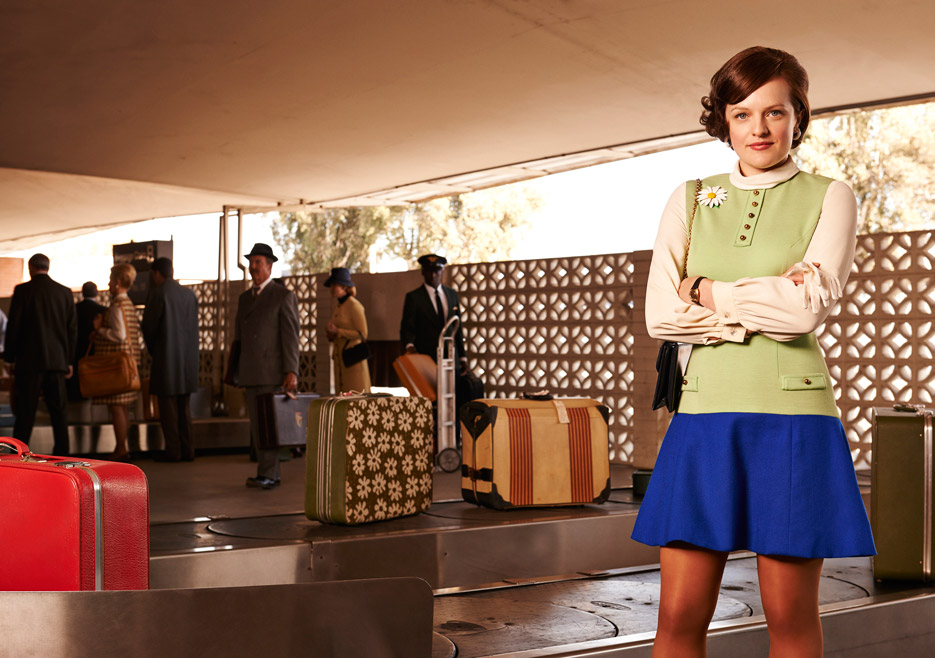 Peggy Olson (Elisabeth Moss) of Mad Men