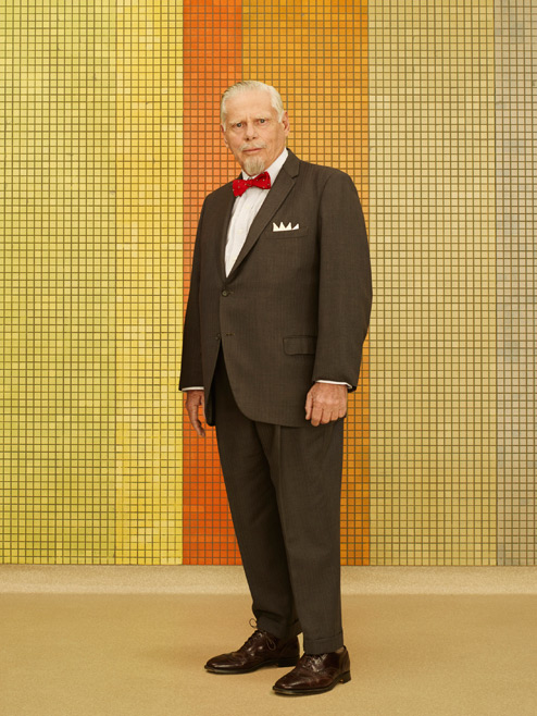 Bertram Cooper (Robert Morse) of Mad Men