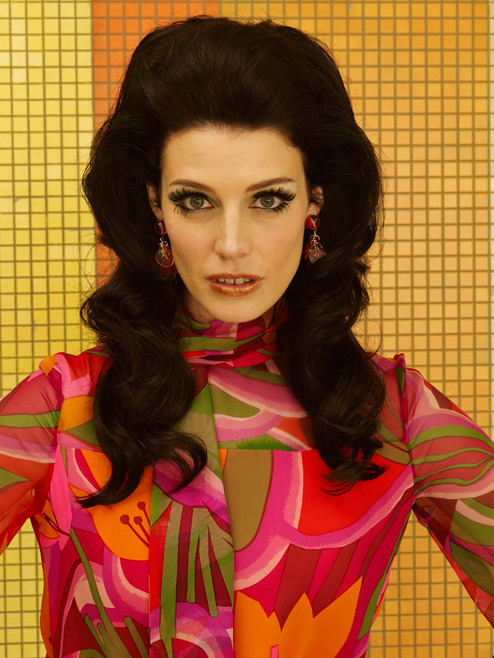 Megan Draper (Jessica Paré) of Mad Men