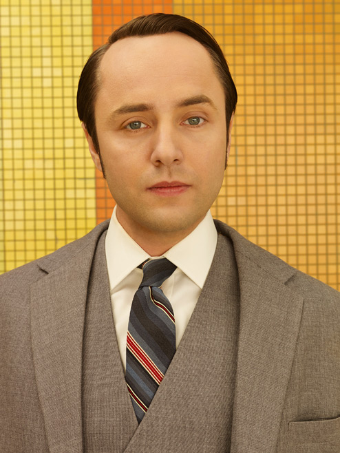 Pete Campbell (Vincent Kartheiser) of Mad Men