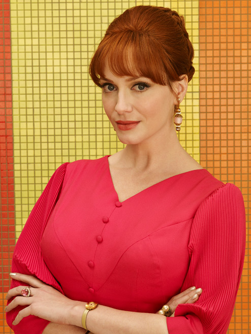 Joan Harris (Christina Hendricks) of Mad Men