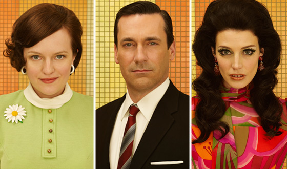 <em>Mad Men</em> Final Season Cast Portraits Now Online