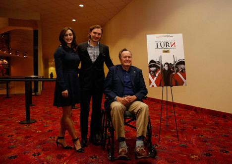<em>TURN: Washington's Spies</em> George H.W. Bush Private Screening