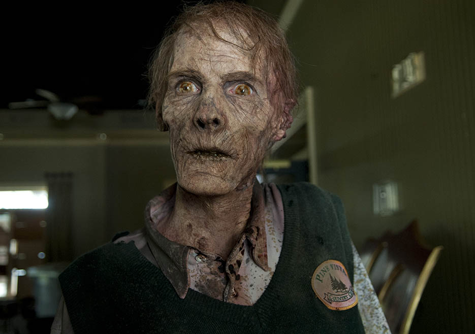 Walker in Episode 12 of The Walking Dead