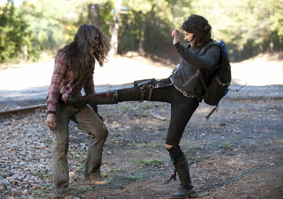 Maggie Greene (Lauren Cohan) in Episode 13 of The Walking Dead