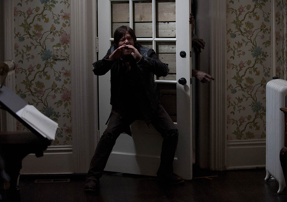 Daryl Dixon, Norman Reedus, in Episode 13 of The Walking Dead