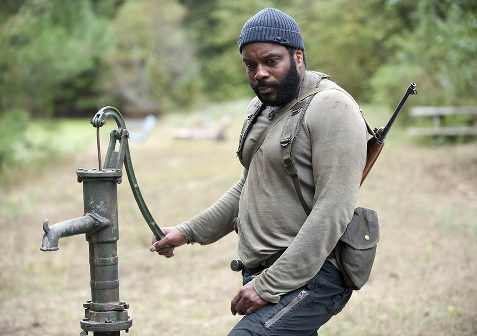Tyreese (Chad L. Coleman) in Episode 14 of The Walking Dead