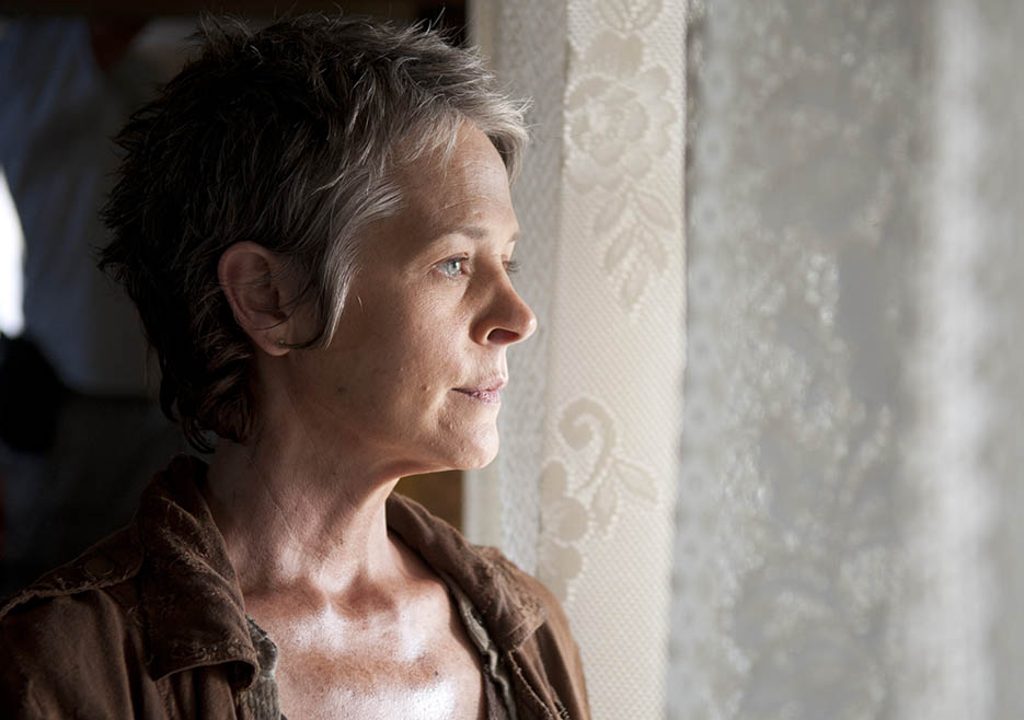 Carol Peletier (Melissa McBride) in Episode 14 of The Walking Dead