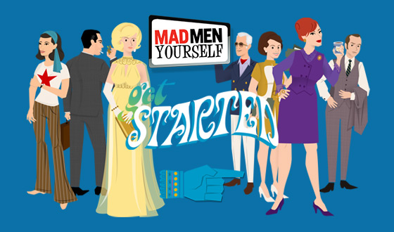 Get Ready for the New Season by Updating Your <em>Mad Men</em> Yourself Avatar