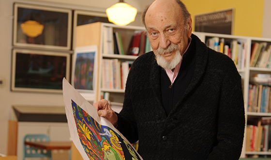 Q&#038;A &#8211; Milton Glaser (Designer of <em>Mad Men</em>&#8216;s Season 7 Key Art)