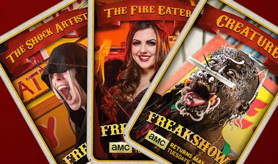 <i>Freakshow</i> Season 2 Pitch Cards