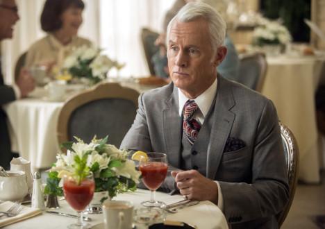Roger Sterling (John Slattery) in Mad Men
