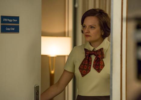 Peggy Olson (Elisabeth Moss) in Mad Men